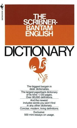 9780553264968: The Scribner-Bantam English Dictionary