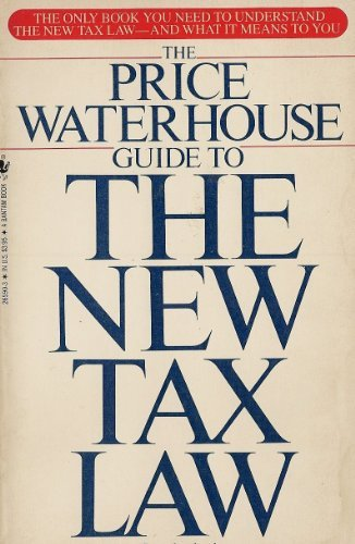 9780553265903: The Price Waterhouse Guide To The New Tax Law