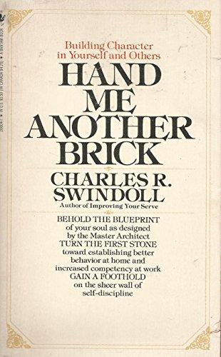 Hand/another Brick: Swindoll, Charles