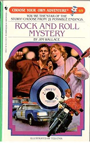 Rock and Roll Mystery (Choose Your Own Adventure, No. 69) (0553266535) by Wallace, Jim