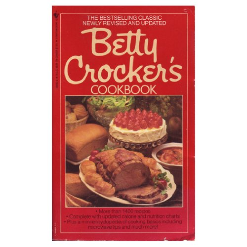 Betty Crocker's Cookbook Vtg. New and Revised 1978 Hardcover Spiral Bound