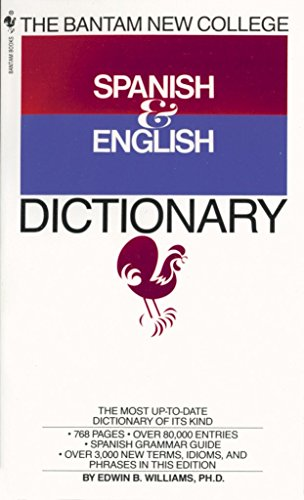 9780553267143: The Bantam New College Spanish & English Dictionary