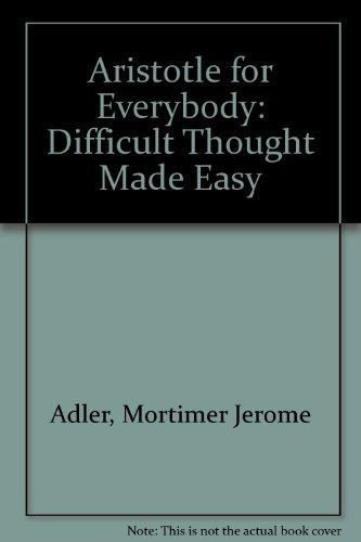 9780553267761: Aristotle for Everybody