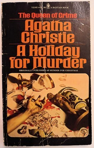 9780553267952: A Holiday for Murder