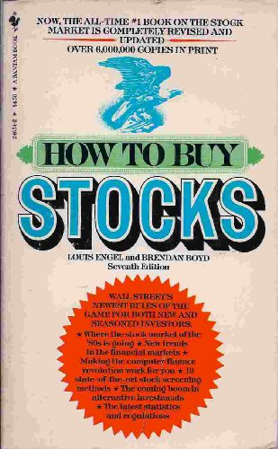 9780553269772: How to Buy Stocks