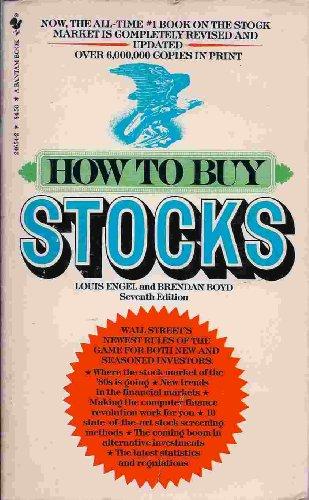 9780553269772: How to Buy Stocks