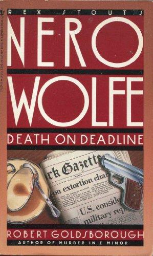 Death on Deadline (Nero Wolfe): Robert Goldsborough