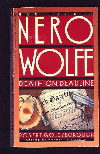 9780553270242: Death on Deadline (Nero Wolfe)