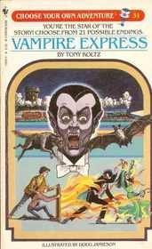 9780553270532: VAMPIRE EXPRESS (Choose Your Own Adventure)