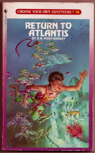 9780553271232: Return to Atlantis (Choose Your Own Adventure #78)