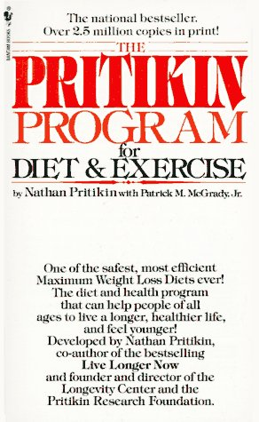 9780553271928: The Pritikin Program for Diet and Exercise