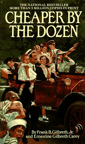 9780553272505: Cheaper by the Dozen (A Bantam Starfire Book)