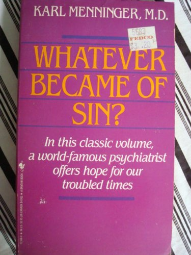 9780553273687: Whatever Became of Sin?