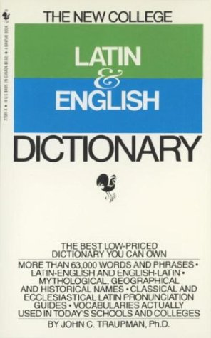 9780553275810: The Bantam New College Latin & English Dictionary