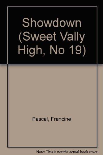 9780553275896: Showdown (Sweet Valley High, No. 19)