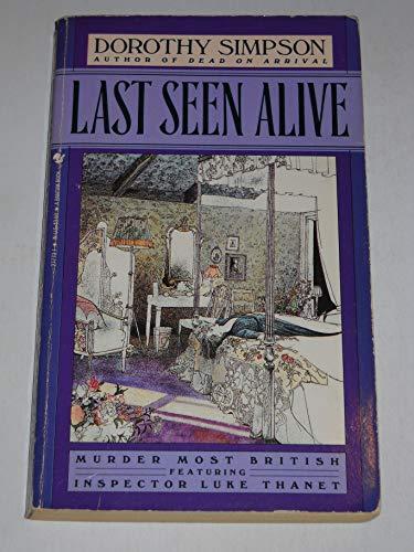 9780553277739: Last Seen Alive