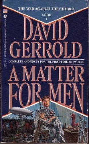 9780553277821: Matter for Men (War Against the Chtorr)