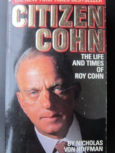 9780553278934: Citizen Cohn