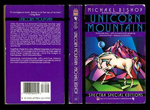 UNICORN MOUNTAIN (9780553279047) by Bishop, Michael