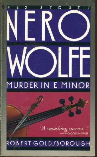 9780553279382: Murder in E Minor