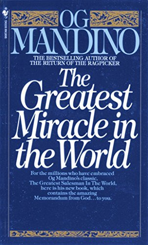 9780553279726: The Greatest Miracle in the World