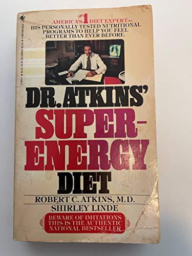Dr.atkins Superenerg (0553279947) by Atkins, Robert C.