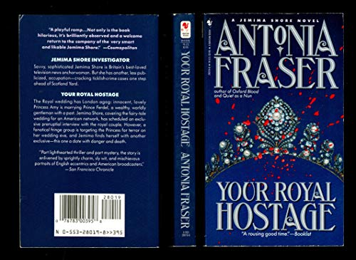 9780553280197: Your Royal Hostage (Jemima Shore Mystery)