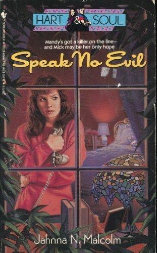 9780553280777: Speak No Evil (Hart and Soul, No 3)