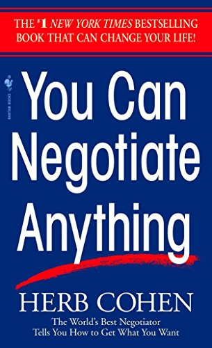 9780553281095: You Can Negotiate Anything