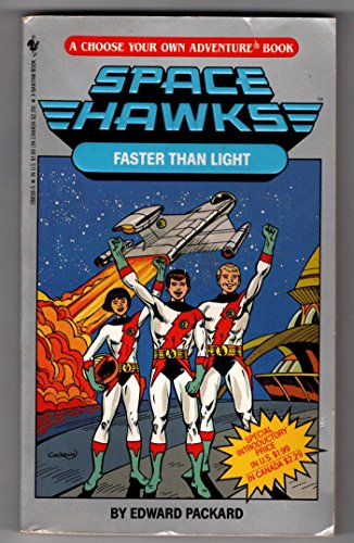 9780553288384: FASTER THAN LIGHT (Space Hawks)