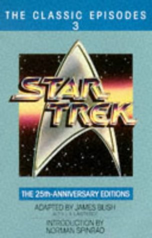 THREE VOLUMES - STAR TREK: The Classic Episodes, The 25th Anniversary Editions, Book 1, 2, 3