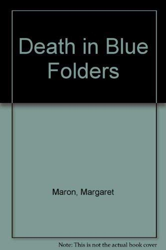 9780553294989: DEATH IN BLUE FOLDERS
