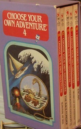 9780553304343: Choose Your Own Adventure Boxed Set No. 4 (Choose Your Own Adventure, 4)