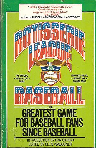 Rotisserie League Baseball: Waggoner, Glenngue; Rotisserie League