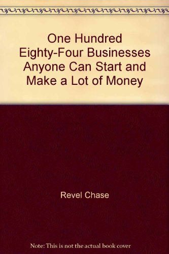9780553342369: 184 Businesses Anyone Can Start and Make a Lot of Money