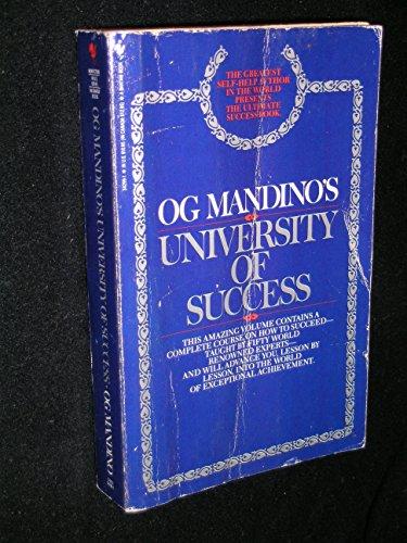 9780553342994: Og Mandino's University of Success