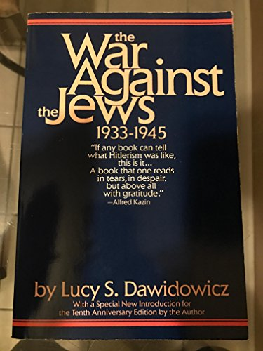9780553343021: Title: The war against the Jews 19331945