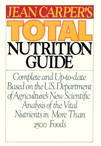 9780553343502: Jean Carper's Total Nutrition Guide