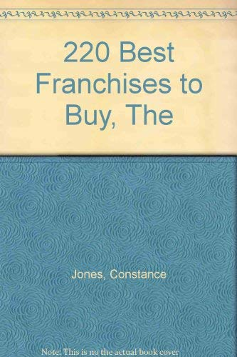 220 Best Franchises to Buy, The (0553343858) by Jones, Constance