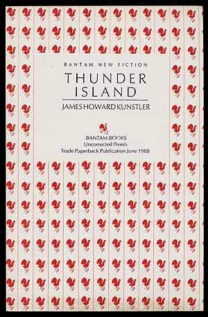 Thunder Island (SIGNED Plus SIGNED LETTER): Kunstler, James Howard