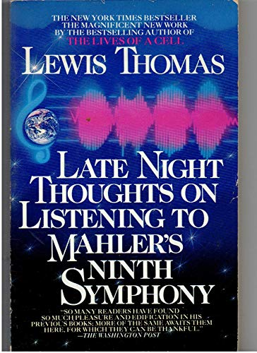 9780553345339: Late Night Thoughts on Listening to Mahler's Ninth Symphony