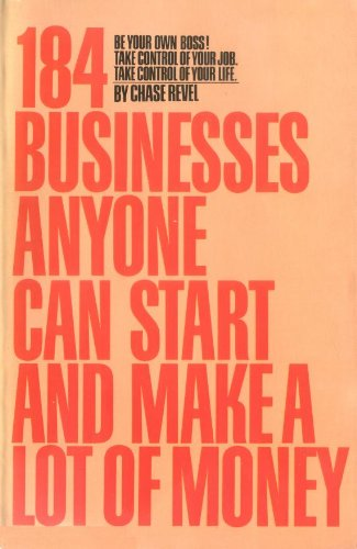 9780553345346: 184 Businesses Anyone Can Start and Make a Lot of Money