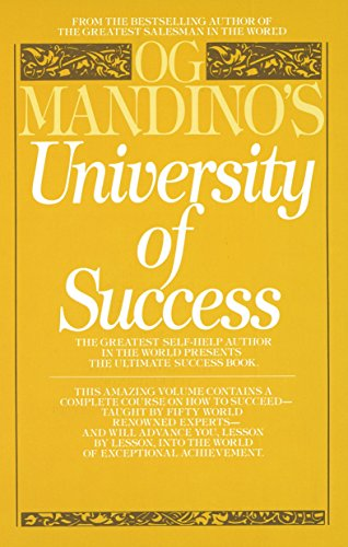 9780553345353: Og Mandino's University of Success: The Greatest Self-Help Author in the World Presents the Ultimate Success Book