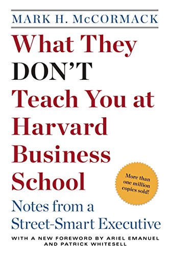 9780553345834: What They Don't Teach You at Harvard Business School