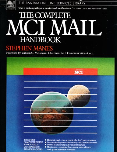 9780553345872: The Complete MCI Mail Handbook