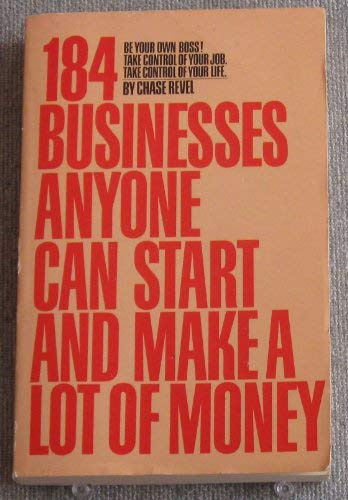 9780553346138: 184 Businesses Anyone Can Start and Make a Lot of Money