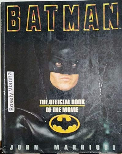 9780553348088: Batman: The Official Book of the Movie