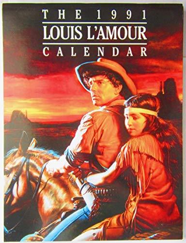 Louis L'Amour Calendar, 1991: L'Amour, Louis