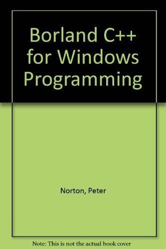 9780553351439: Borland C++ for Windows Programming