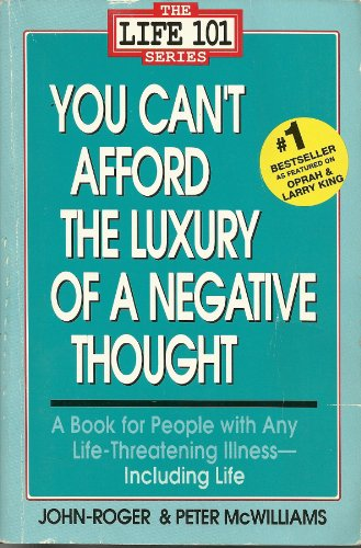 9780553354126: You Can't Afford the Luxury of a Negative Thought